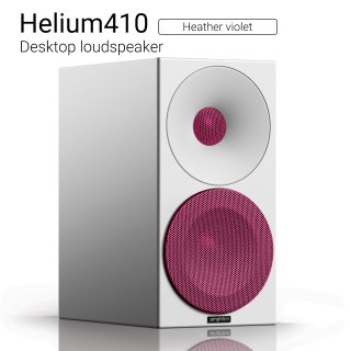 Helium410 (Heather violet) Desktop loudspeaker【ペア】