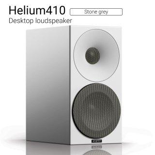 Helium410 (Stone grey) Desktop loudspeaker【ペア】
