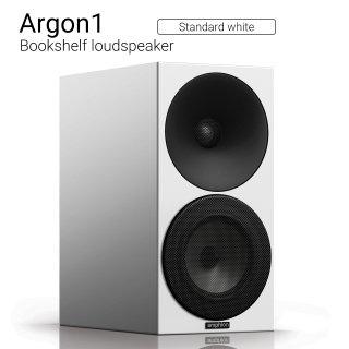 Argon1 (Standard white) Bookshelf loudspeaker【ペア】