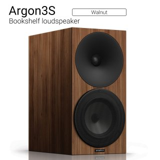 Argon3S (Walnut) Bookshelf loudspeaker【ペア】