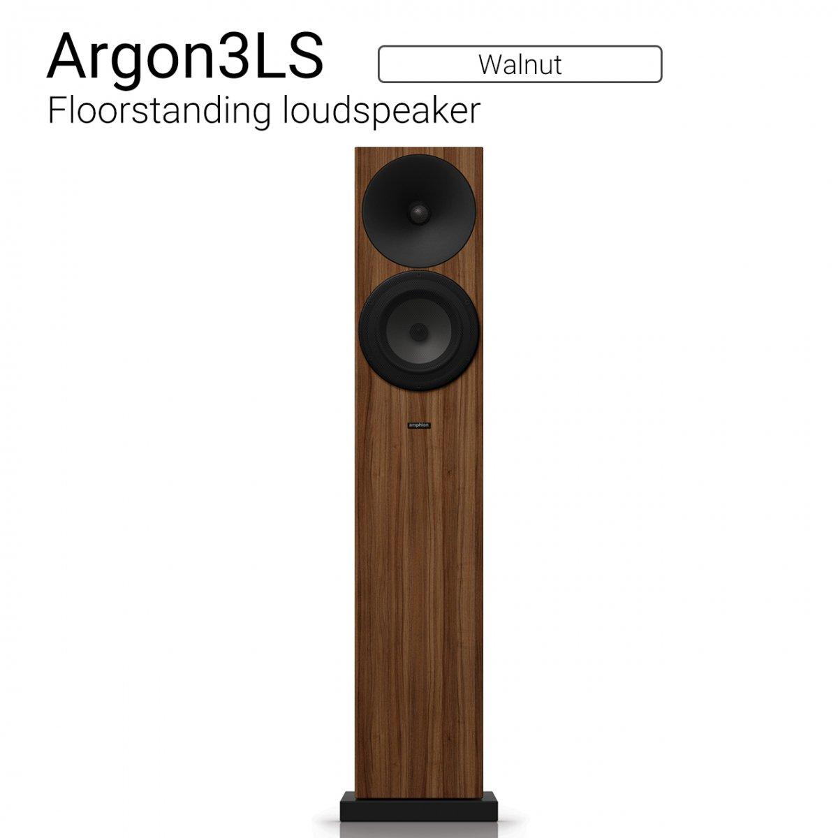 Argon3LS (Walnut) Floorstanding loudspeaker【ペア】