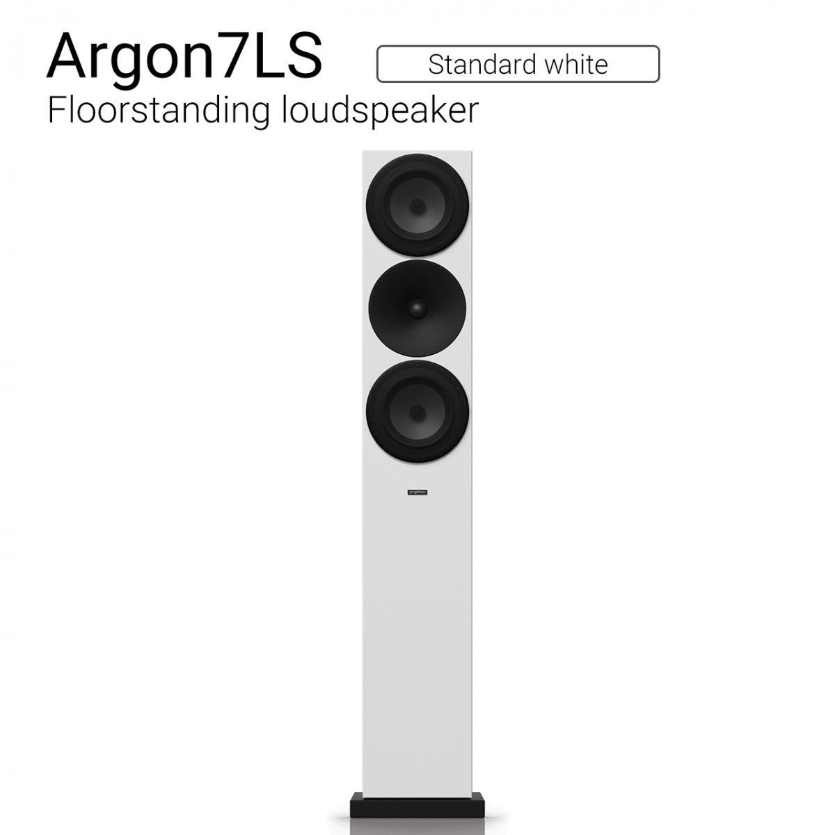 Argon7LS (Standard white) Floorstanding Loudspeaker【ペア】