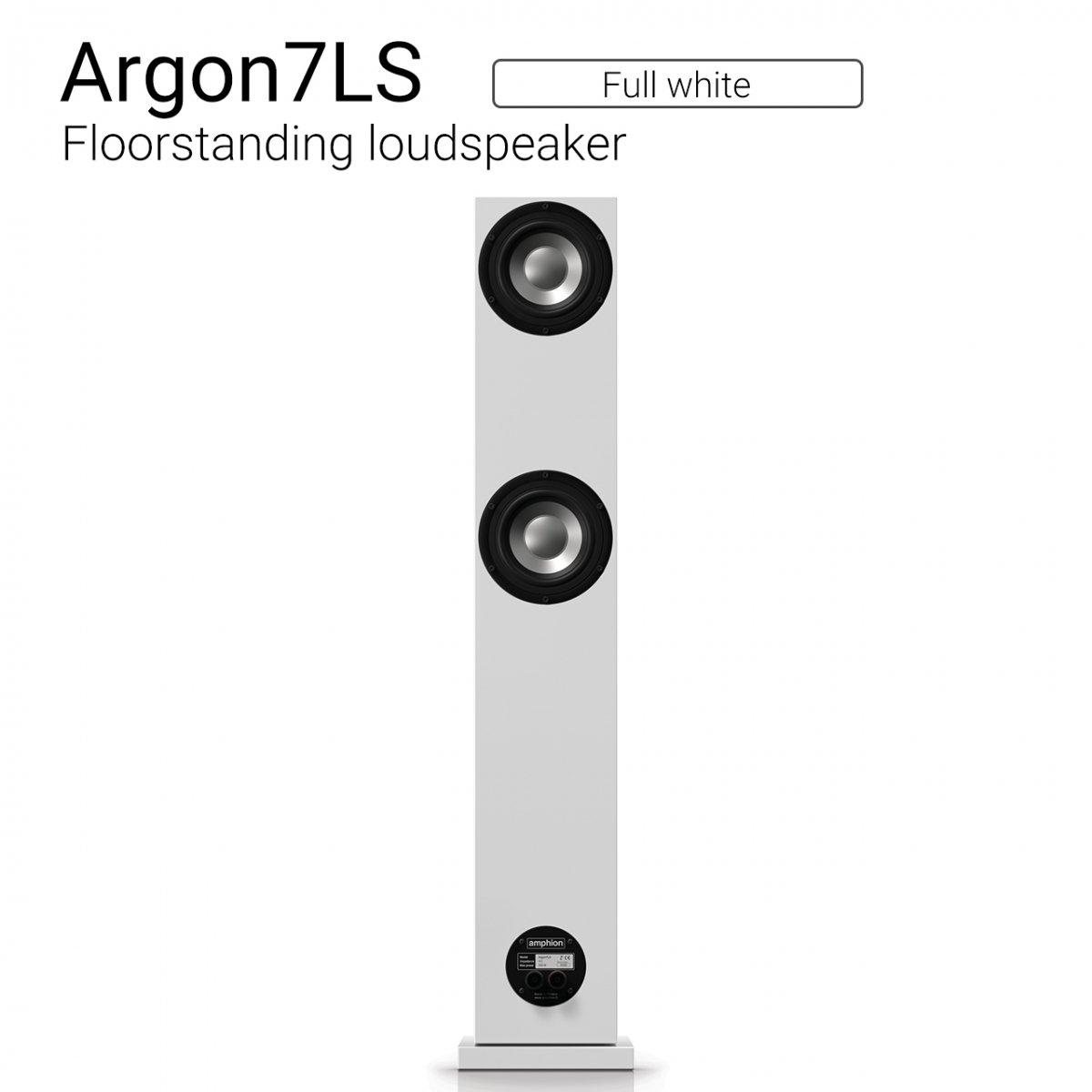 Argon7LS (Full white) Floorstanding Loudspeaker【ペア】