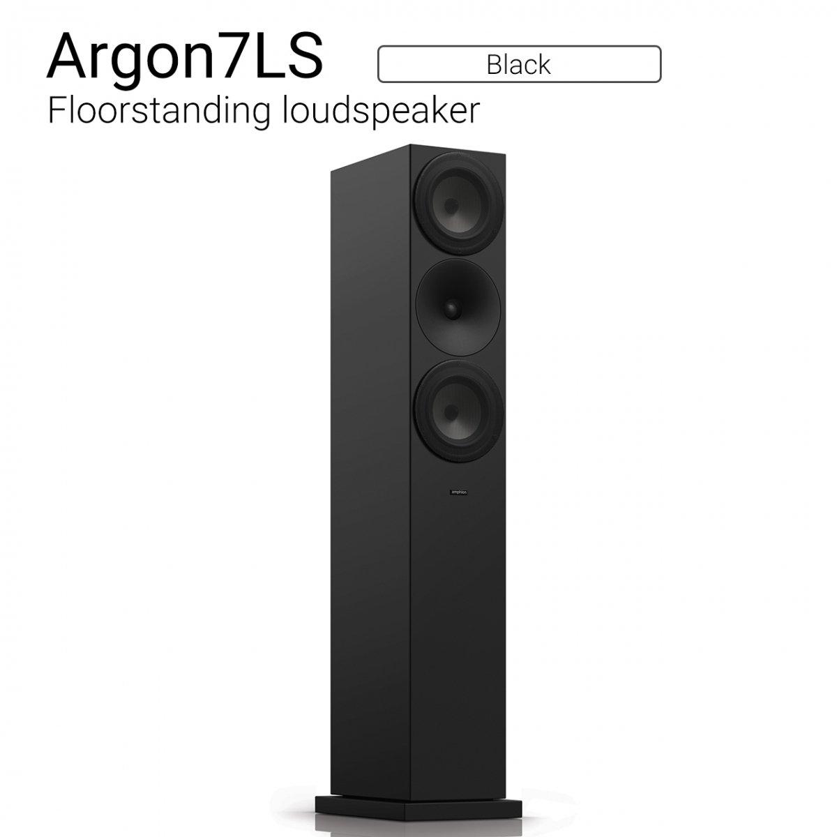 Argon7LS (Black) Floorstanding Loudspeaker【ペア】