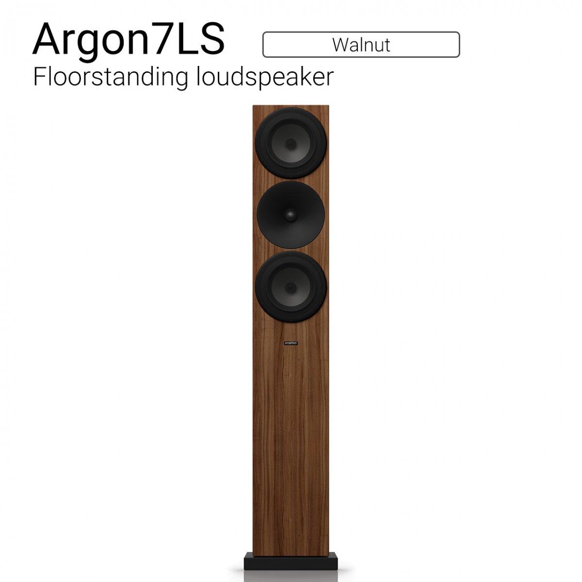 Argon7LS (Walnut) Floorstanding Loudspeaker【ペア】
