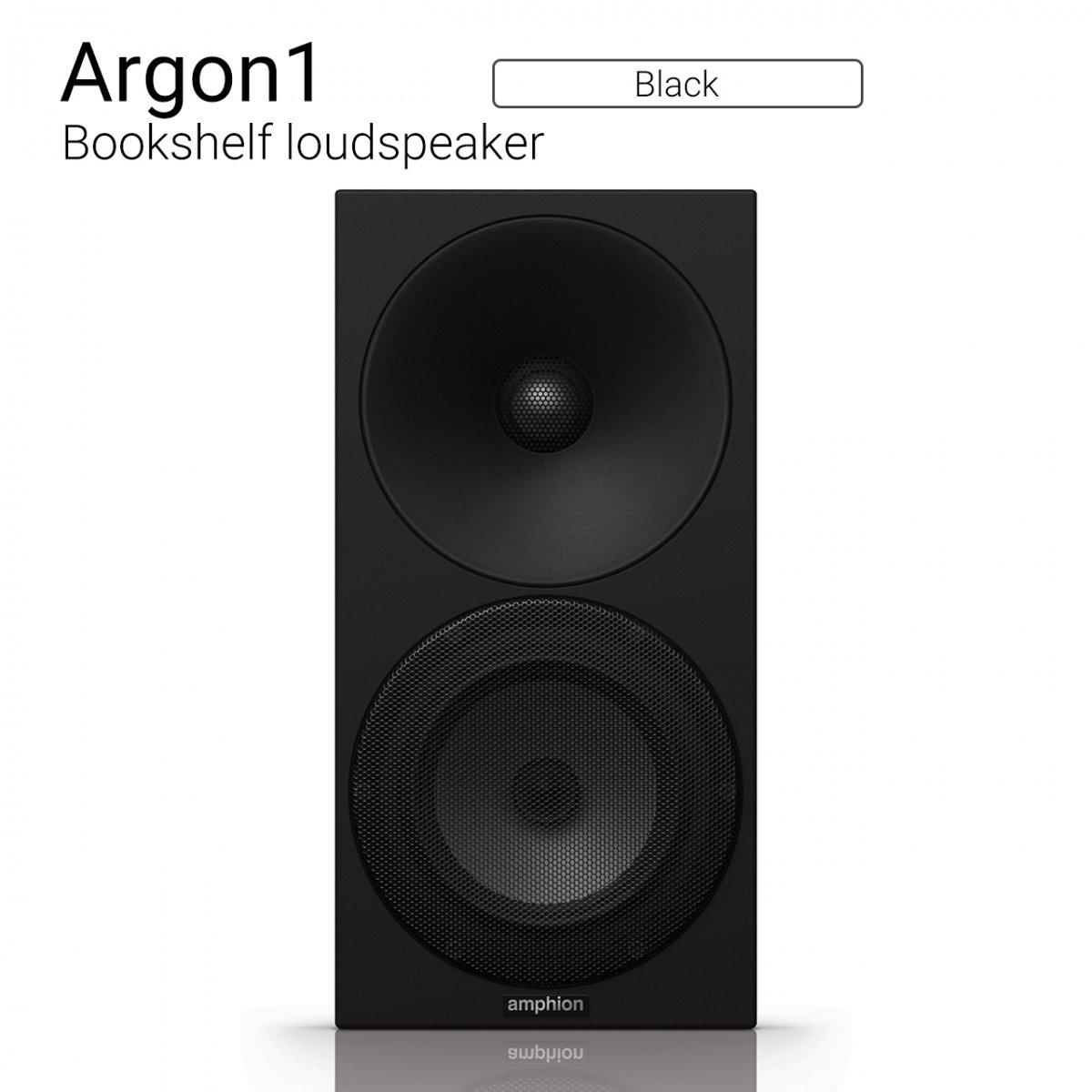 Argon1 (Black) Bookshelf loudspeaker【ペア】