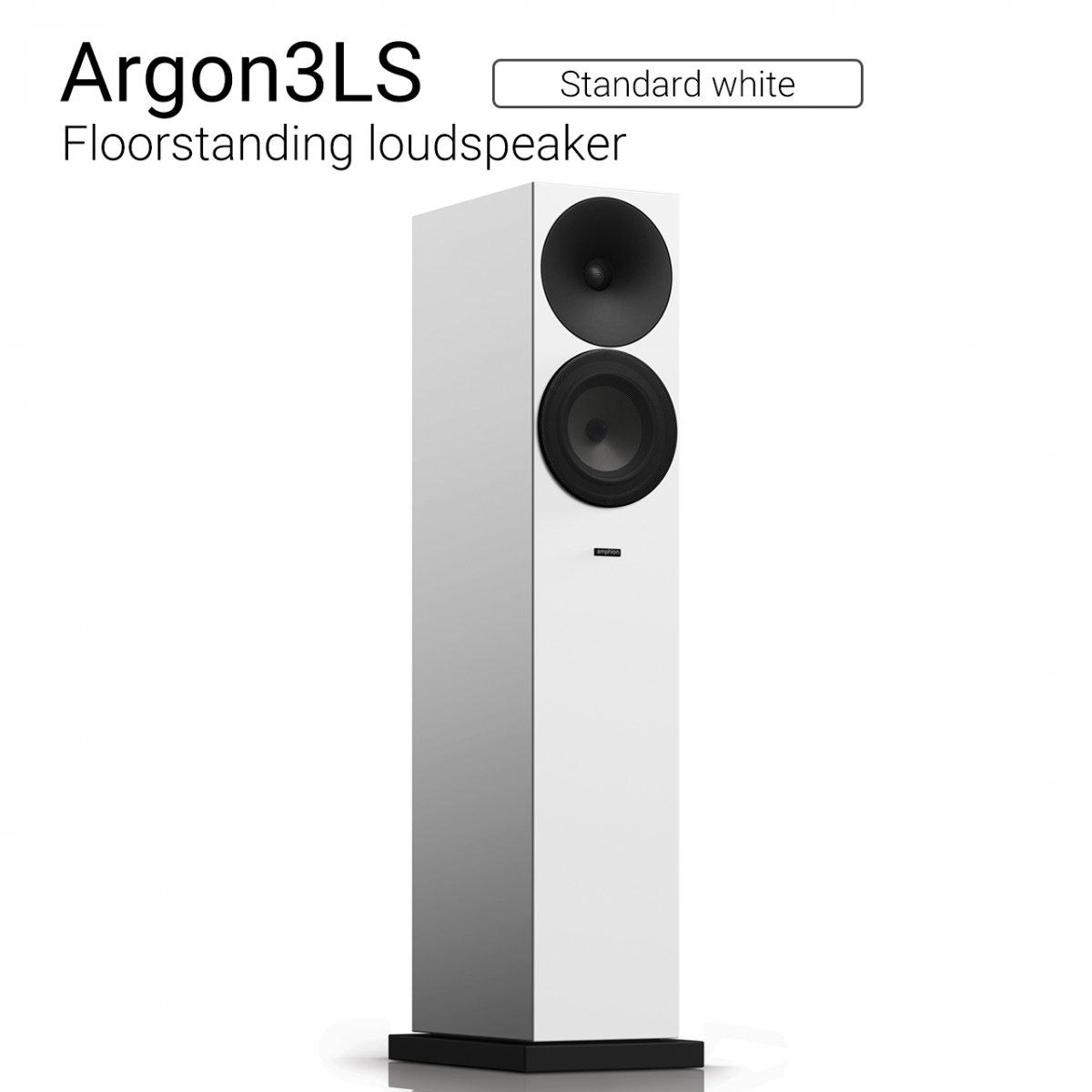 Argon3LS (Standard white) Floorstanding loudspeaker【ペア】