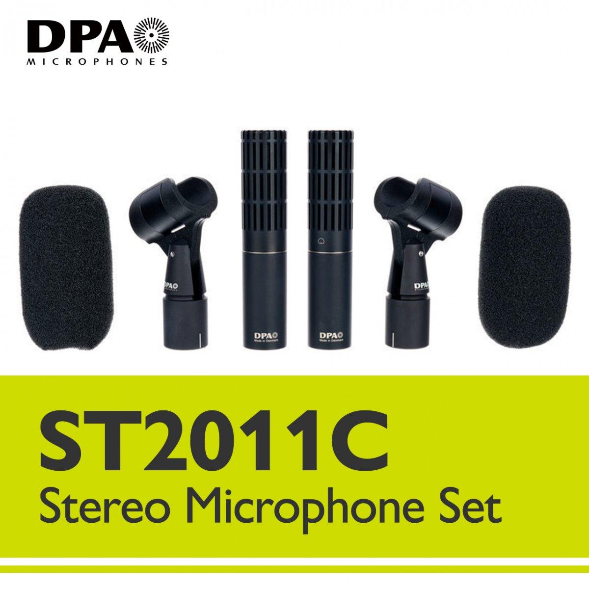 DPA ST2011C デンマーク製 ステレオ マイク セット