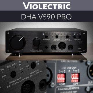 【スペシャル プライス適用中! フラッグシップ ヘッドフォンアンプ】Violectric DHA V590 PRO