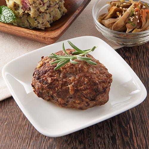 グラスフェッドビーフのふっくらハンバーグ(1個/120g)商品画像