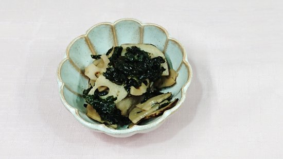 レンコンのきんぴら海苔風味(40g)商品画像