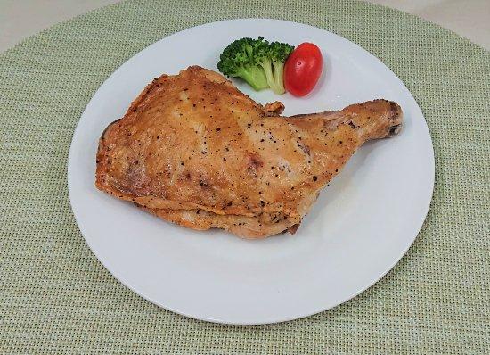鶏の骨付きもも肉のロースト商品画像