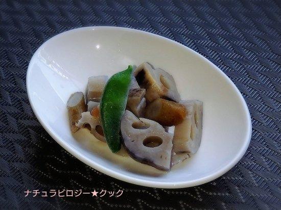 ごぼうと蓮根の梅煮商品画像