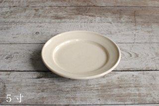 【薩摩の白もん】平皿(5寸)