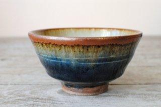 【森山窯】飯碗 大 瑠璃釉