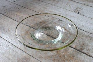 【ニジノハ】モール皿 6寸 白 口巻きオリーブ