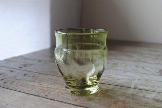 【星耕硝子】丸ロックグラス 小 緑