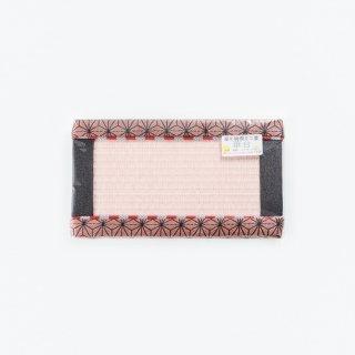 ミニ畳華台(麻の葉 ピンク)