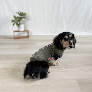 <img class='new_mark_img1' src='https://img.shop-pro.jp/img/new/icons25.gif' style='border:none;display:inline;margin:0px;padding:0px;width:auto;' />DOGGO/犬用Tシャツ(アーミーグリーン)/ペアルック可