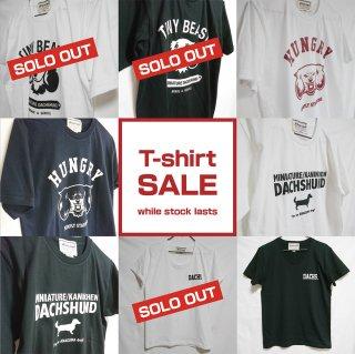 【SALE/在庫限り】選べるTシャツ8種