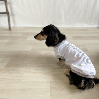 【大人気】DOGGO/犬用Tシャツ(ホワイト)/ペアルック可