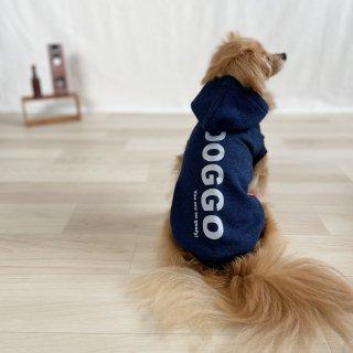 DOGGO/犬用インディゴパーカー/飼い主とペアルック可/5,000円〜