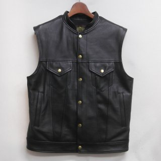 CHIEF COWHIDE Chrome Tanning BLACK  一点物サイズ(約SIZE:40)