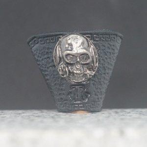 タイストラップ metal fitting スカル 黒 3点セット価格
