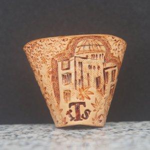 タイストラップ carving(彫刻)シリーズ 忘れてはいけない歴史(3) ナチュラル 3点セット価格
