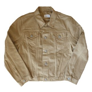<img class='new_mark_img1' src='https://img.shop-pro.jp/img/new/icons5.gif' style='border:none;display:inline;margin:0px;padding:0px;width:auto;' />over sized denim jacket(BEG)