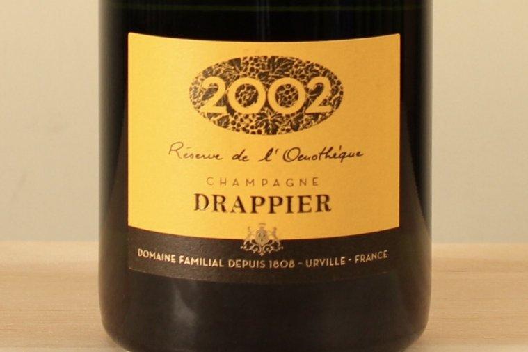 ドラピエ カルトドール 2002 フランス/AOCシャンパーニュ