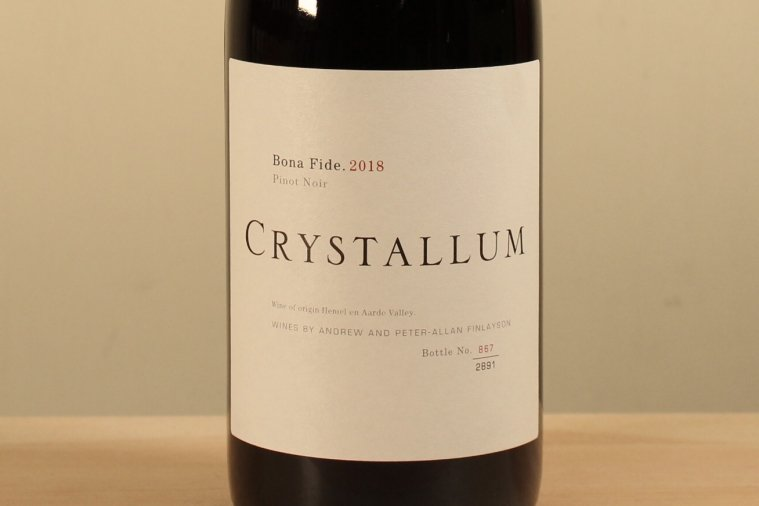 Bona Fide Pinot Noir ボナ・ファイド・ピノ・ノワール 2018