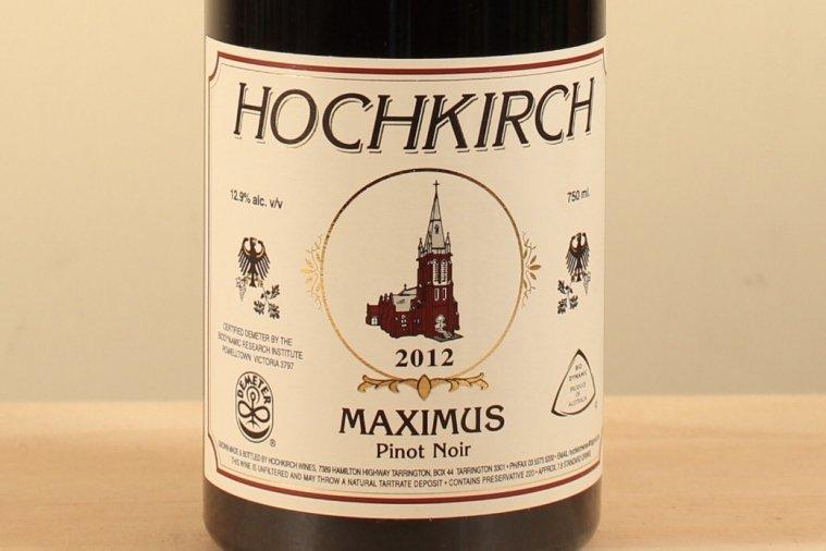 ホッフキルシュ マキシマス ピノ・ノワール 12 Hochkirch Maximus Pinot Noir 12