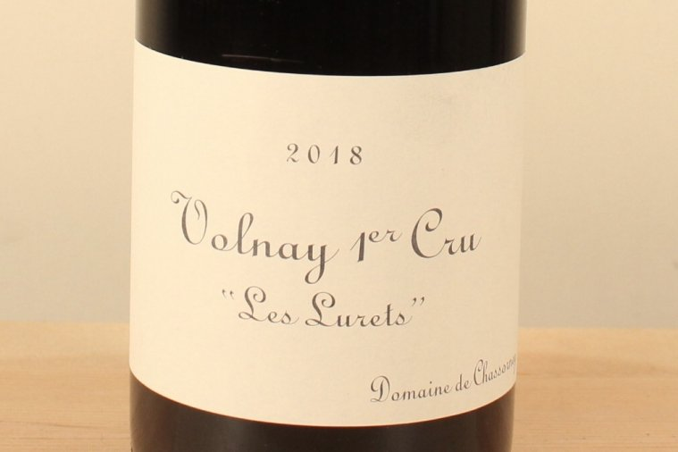 Volnay 1er Cru Rouge 2018 Les Lurets ヴォルネイ1級 レ・リュレ(赤)