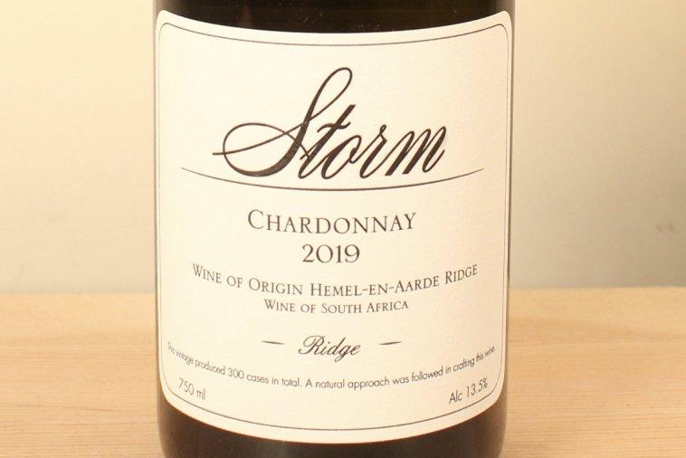 Ridge Chardonnay リッジ・シャルドネ2019