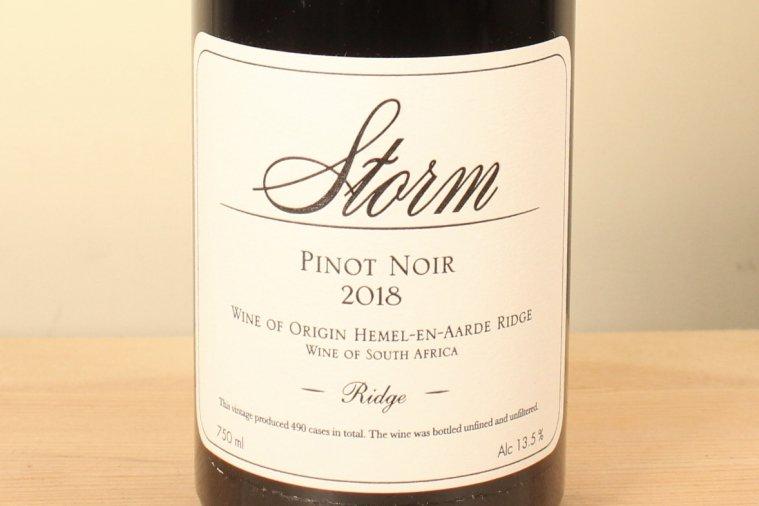 Ridge Pinot Noir リッジ・ピノ・ノワール 2018