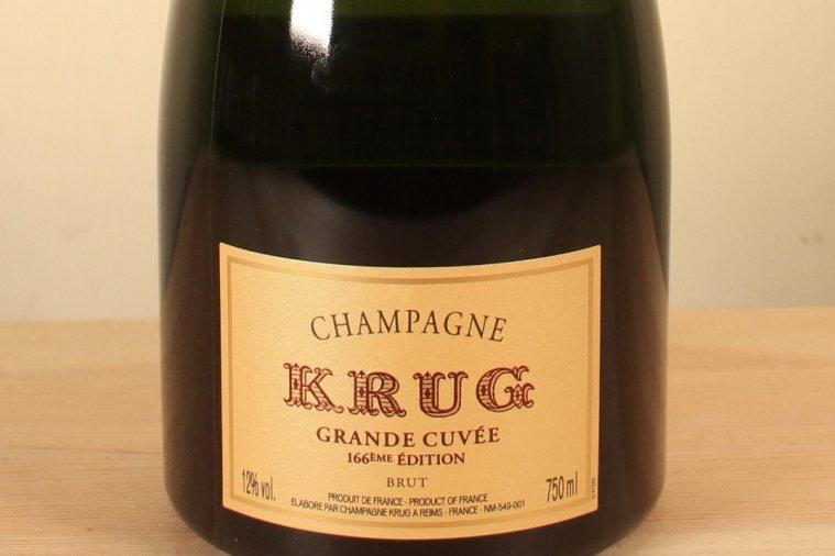 KRUG GRANDE CUVEE EDITION 166  NV クリュッグ・グラン・キュヴェ エディション166