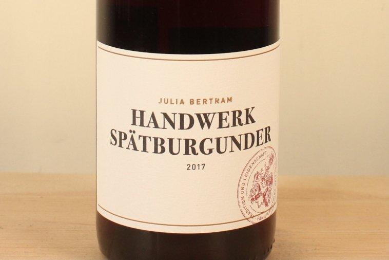 ハンドウェーク・シュペートブルグンダー Handwerk Spätburgunder 2017