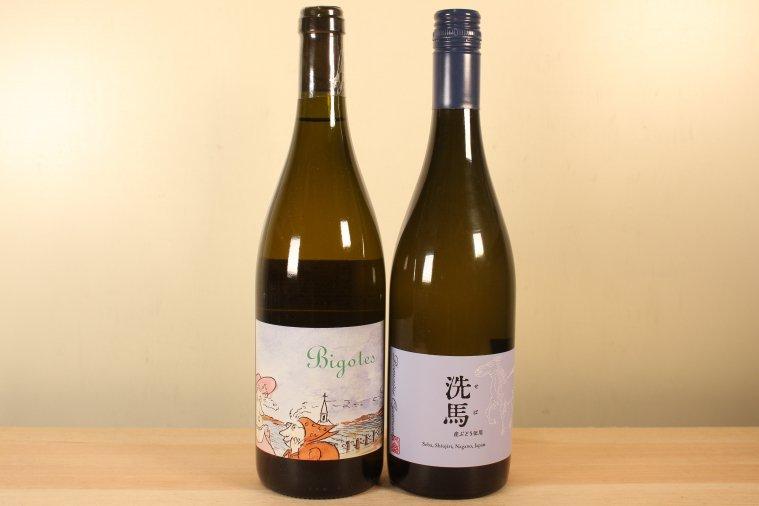 Seba Blanc  洗馬 2019 (白)& Bourgogne Blanc 2018 Bigotes ブルゴーニュ ビゴット(白)