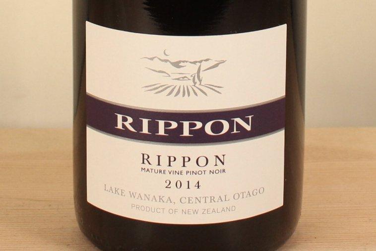 リッポン マチュア ヴァイン ピノ ノワール Rippon Mature Vine Pinot Noir 2014