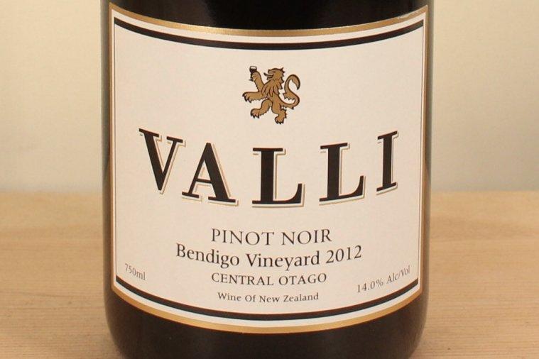 ベンディゴ  ピノ ノワール Bendigo Pinot Noir 2012