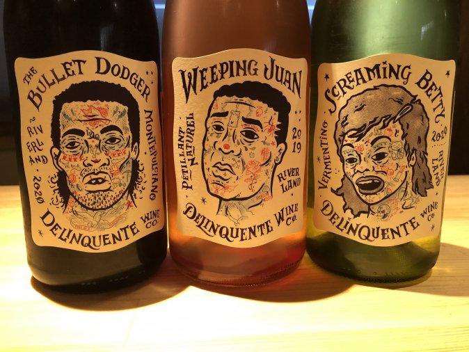 自然派ワイン デリンクエンテ3本セット(赤、ロゼ泡、白)