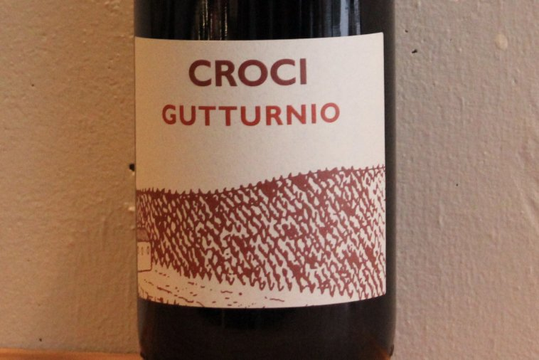 """GUTTURNIO"" / Vino Frizzante Rosso DOC グットゥルニオ 17"
