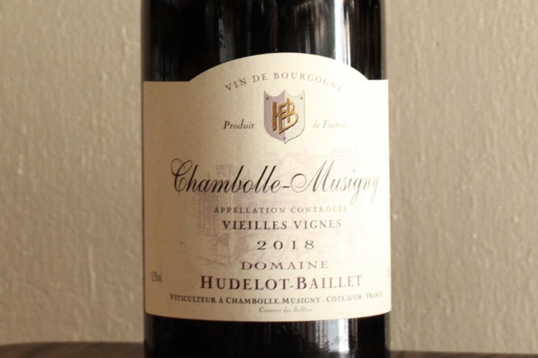 Chambolle-Musigny Vieilles Vignes シャンボール・ミュジニー ヴィエイユ・ヴィーニュ 2018