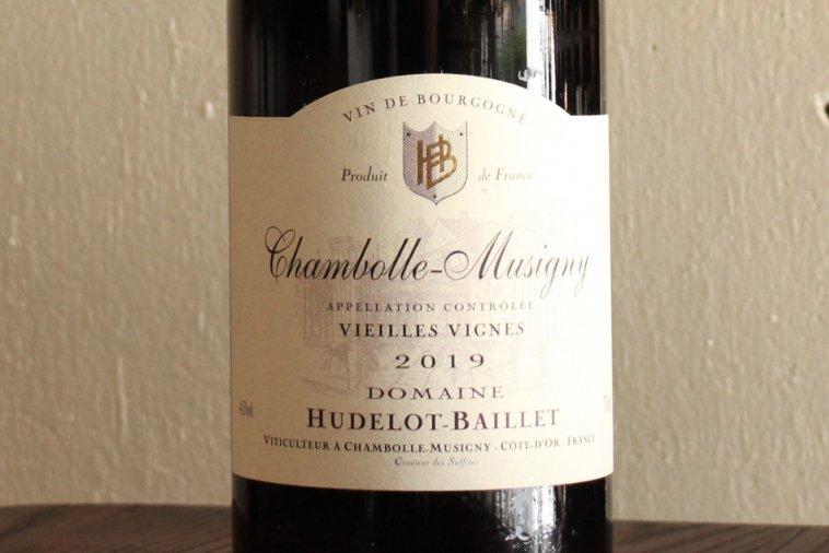 Chambolle-Musigny Vieilles Vignes シャンボール・ミュジニー ヴィエイユ・ヴィーニュ 2019