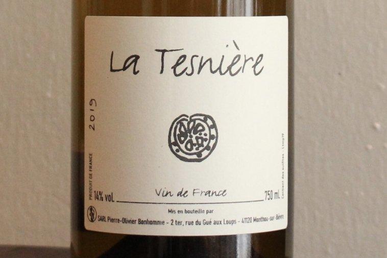 Touraine La Tesnière 2019  トゥーレーヌ ラ・テニエール(白)