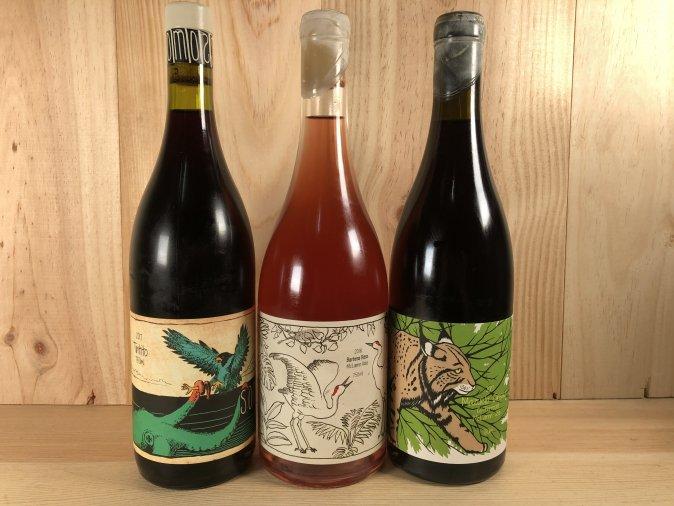 自然派ワイン SOMOS/ソモス 3本セット(赤2、ロゼ1)