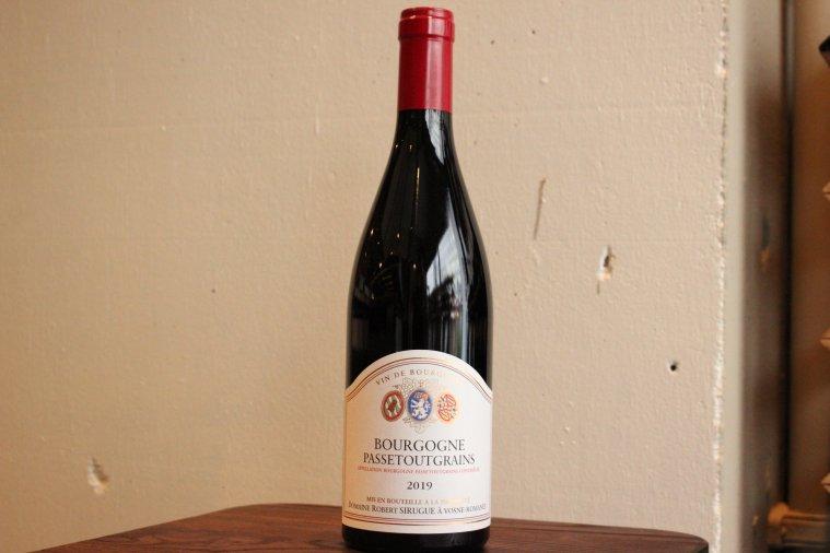 ブルゴーニュ・パストゥグラン '19 / Bourgogne Passetoutgrain '19