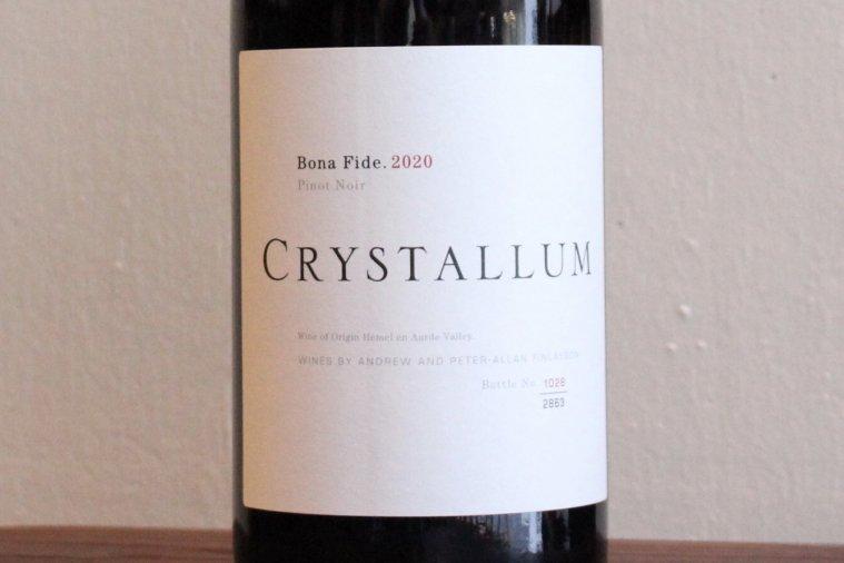 Bona Fide Pinot Noir ボナ・ファイド・ピノ・ノワール 2020