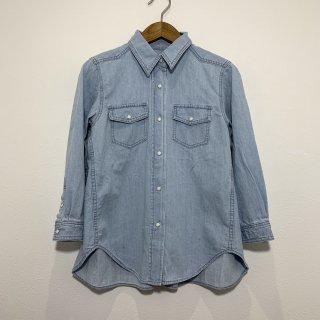 【Healthy/ヘルシー】HL35622 Wheat デニムシャツ ウエスタンシャツ